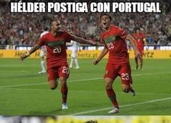 Enlace a Hélder Postiga con Portugal