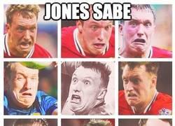 Enlace a Jones sabe lo que es sufrir el fútbol