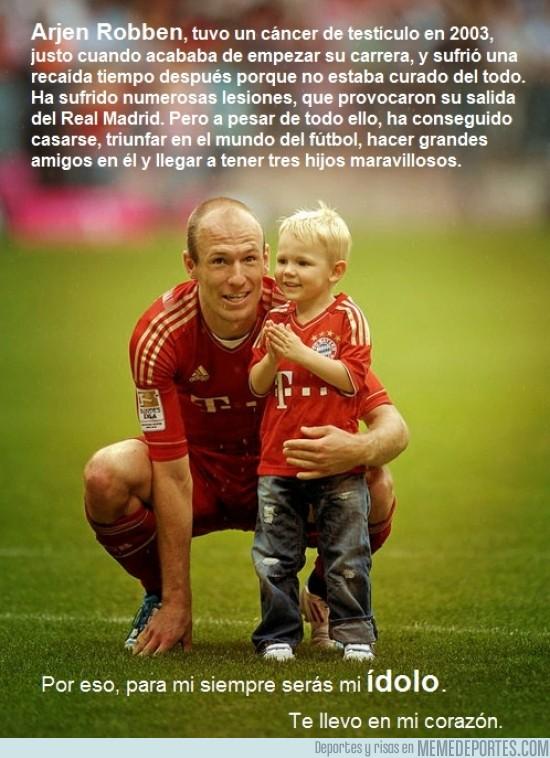 113318 - Arjen Robben, otro ejemplo de superación