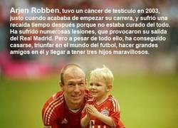 Enlace a Arjen Robben, otro ejemplo de superación
