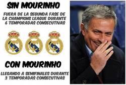 Enlace a Mourinho, el rey de la Champions