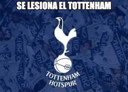 Enlace a Se lesiona el Tottenham