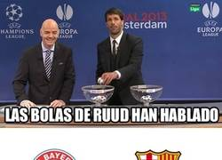 Enlace a Las bolas de Ruud han hablado #champions