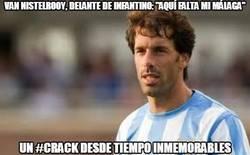Enlace a Van Nistelrooy, delante de Infantino