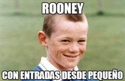 Enlace a Rooney y sus entradas