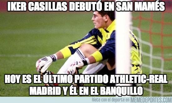 115618 - Iker Casillas debutó en San Mamés