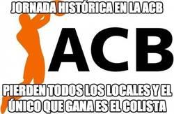 Enlace a Jornada histórica en la ACB