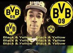 Enlace a Black and yellow, black and yellow