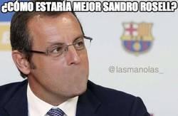 Enlace a ¿Cómo estaría mejor Sandro Rosell?