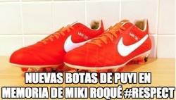 Enlace a Las nuevas botas de Puyol