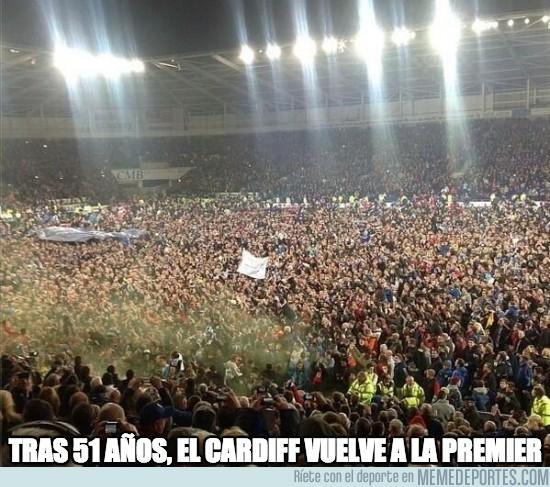 116429 - Impresionante la afición del Cardiff