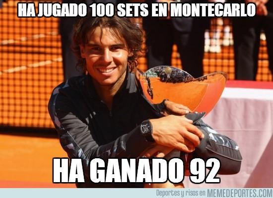116548 - Ha jugado 100 sets en montecarlo