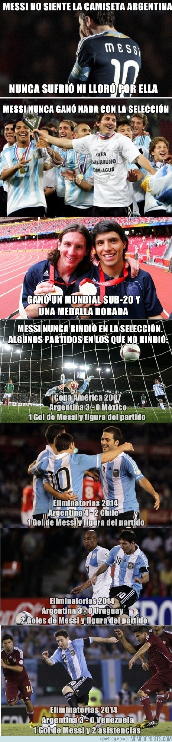117155 - Messi, el peor jugador del mundo