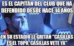 Enlace a Es el capitán del club que ha defendido desde hace 14 años