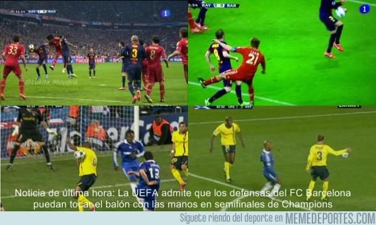 119379 - Nueva regla de la UEFA