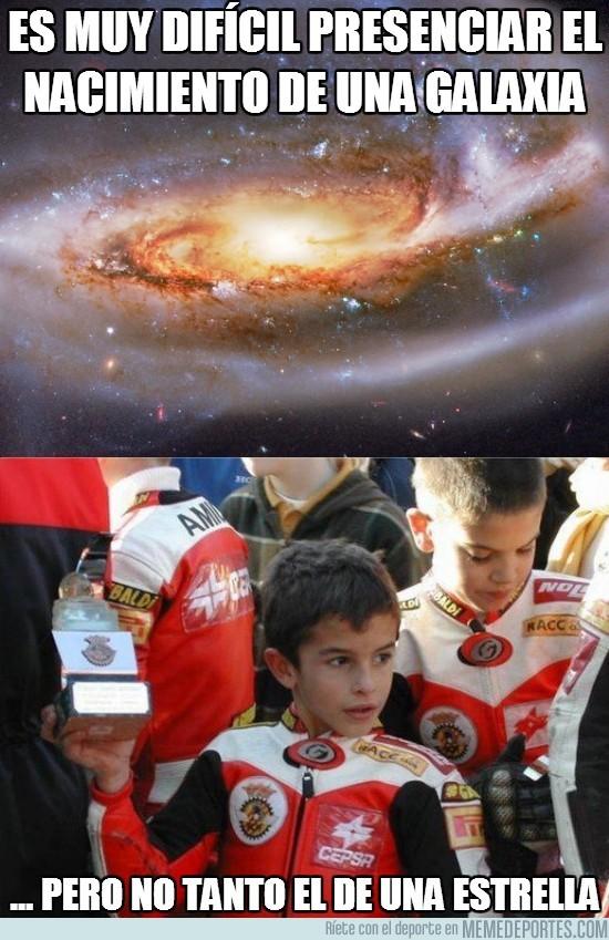 120046 - Es muy difícil presenciar el nacimiento de una galaxia