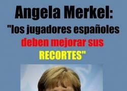 Enlace a Merkel nos regala clases de futbol