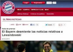 Enlace a ¡Que el Bayern no ha fichado a Lewandowski!