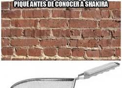 Enlace a Piqué antes de conocer a Shakira