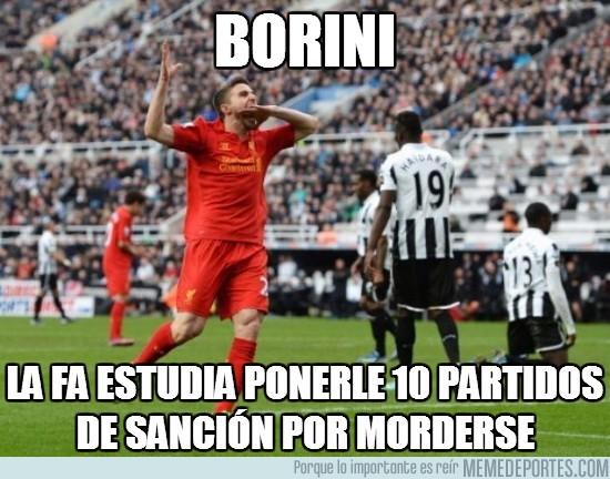 122731 - Borini haciendo puntos para caerle bien a Suárez