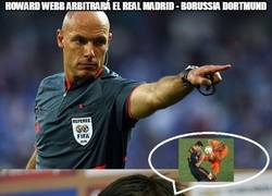 Enlace a Howard Webb arbitrará el Real Madrid - Borussia Dortmund