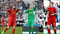Enlace a Los jugadores del Liverpool dedicándole la victoria a Luis Suárez