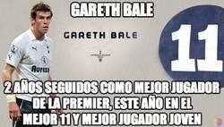 Enlace a Bale, creciendo como futbolista a pasos agigantados