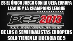 Enlace a Es el único juego con la UEFA Europa League y la Champions League