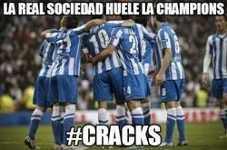 Enlace a La Real Sociedad huele la Champions