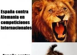 Enlace a España contra Alemania..