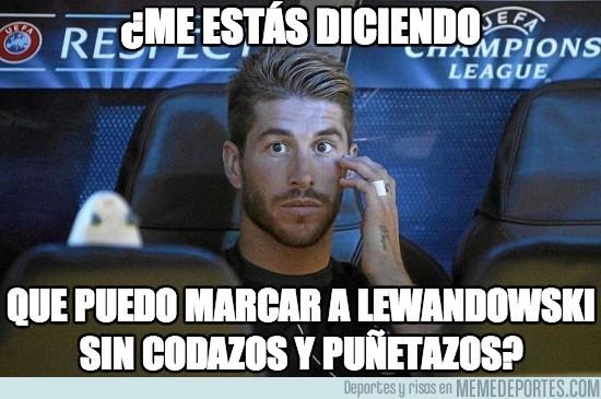 124084 - Sergio Ramos vs Lewandowski