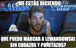 Enlace a Sergio Ramos vs Lewandowski