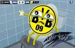 Enlace a Ya puedes salir, Borussia, que se ha acabado por @r4six