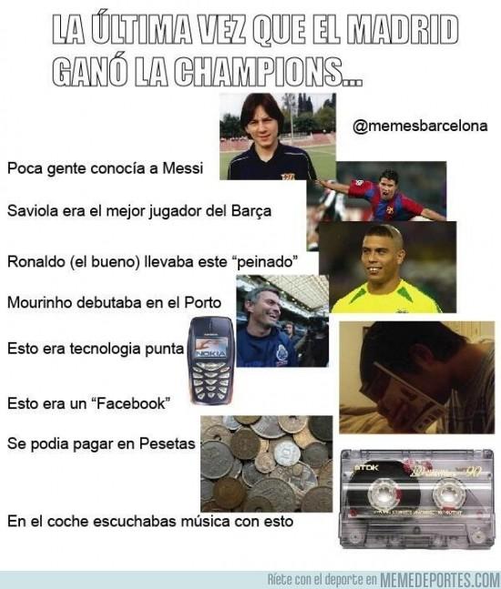 124421 - La última vez que el Madrid ganó una Champions