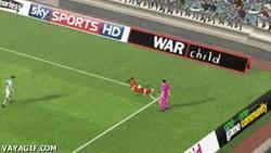 Enlace a GIF: Nuevo e increíble regate en el FIFA