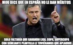 Enlace a Mou dice que en España no le dan méritos
