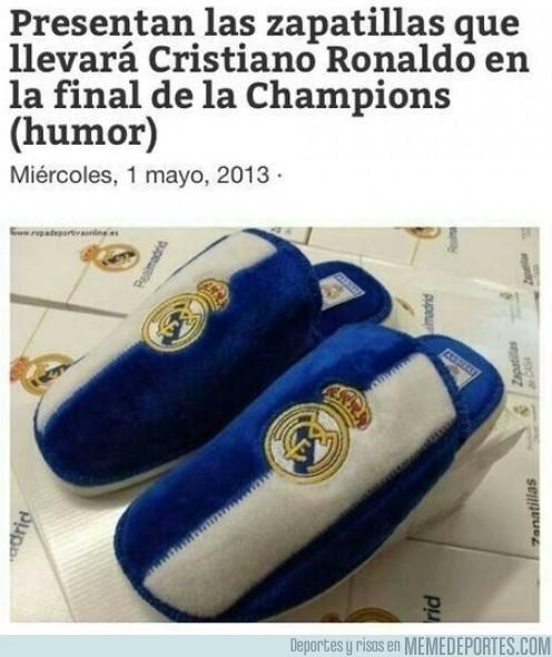 124764 - Las zapatillas de CR7 para la final de Champions