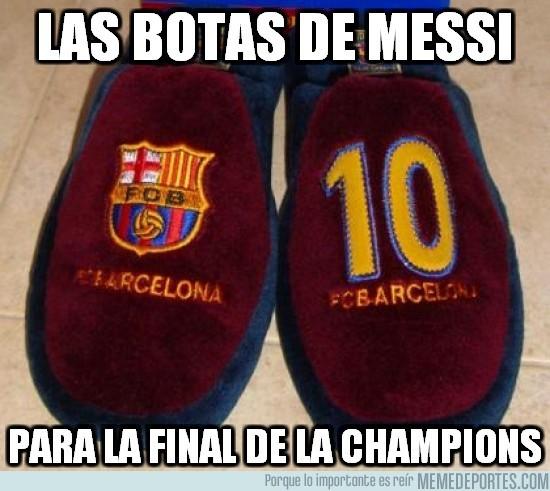 124943 - Las botas de Messi