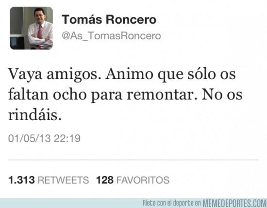 125170 - Roncero enviando ánimos #RESPECT