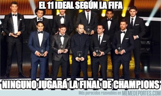 125258 - El 11 ideal según la FIFA