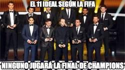 Enlace a El 11 ideal según la FIFA