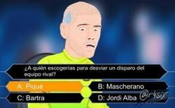 Enlace a Lo que de verdad pasó en el gol de Piqué. Por @r4six