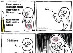 Enlace a El Bayern es mejor que el Borussia pero...