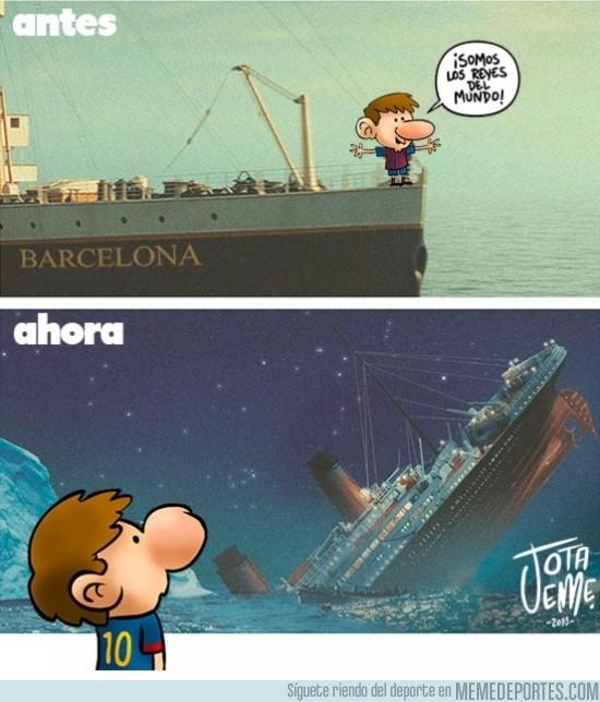 126444 - El antes y después del Barça