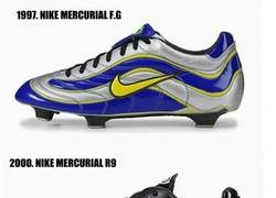 Enlace a 15 años del Mercurial de Nike. Su evolución