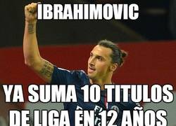 Enlace a Ibrahimovic, coleccionista de ligas