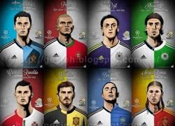 Enlace a Jugadores del Madrid y sus respectivas selecciones