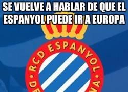 Enlace a Se vuelve a hablar de que el Espanyol puede ir a Europa