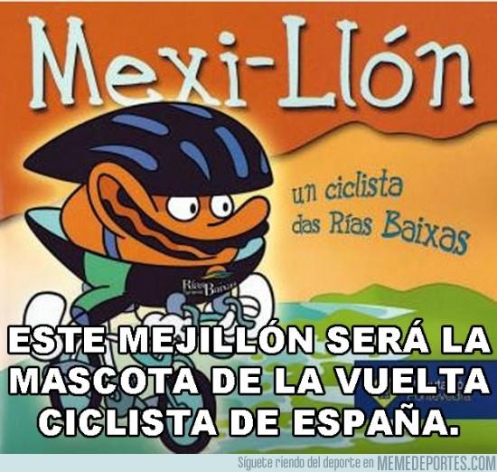 128275 - Después del chándal español, un mejillón será la mascota de la Vuelta