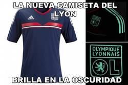 Enlace a Nueva camiseta del Lyon